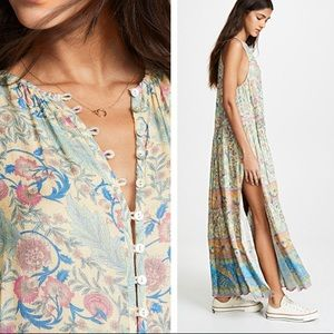 Dresses & Skirts - Opal Oasis Maxi DRESS Flowy Sleeveless Long  Boho
